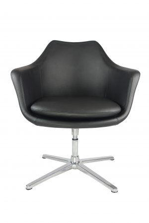 Office swivel lounge chair  black brown tan sydney boardroom waiting room visitor