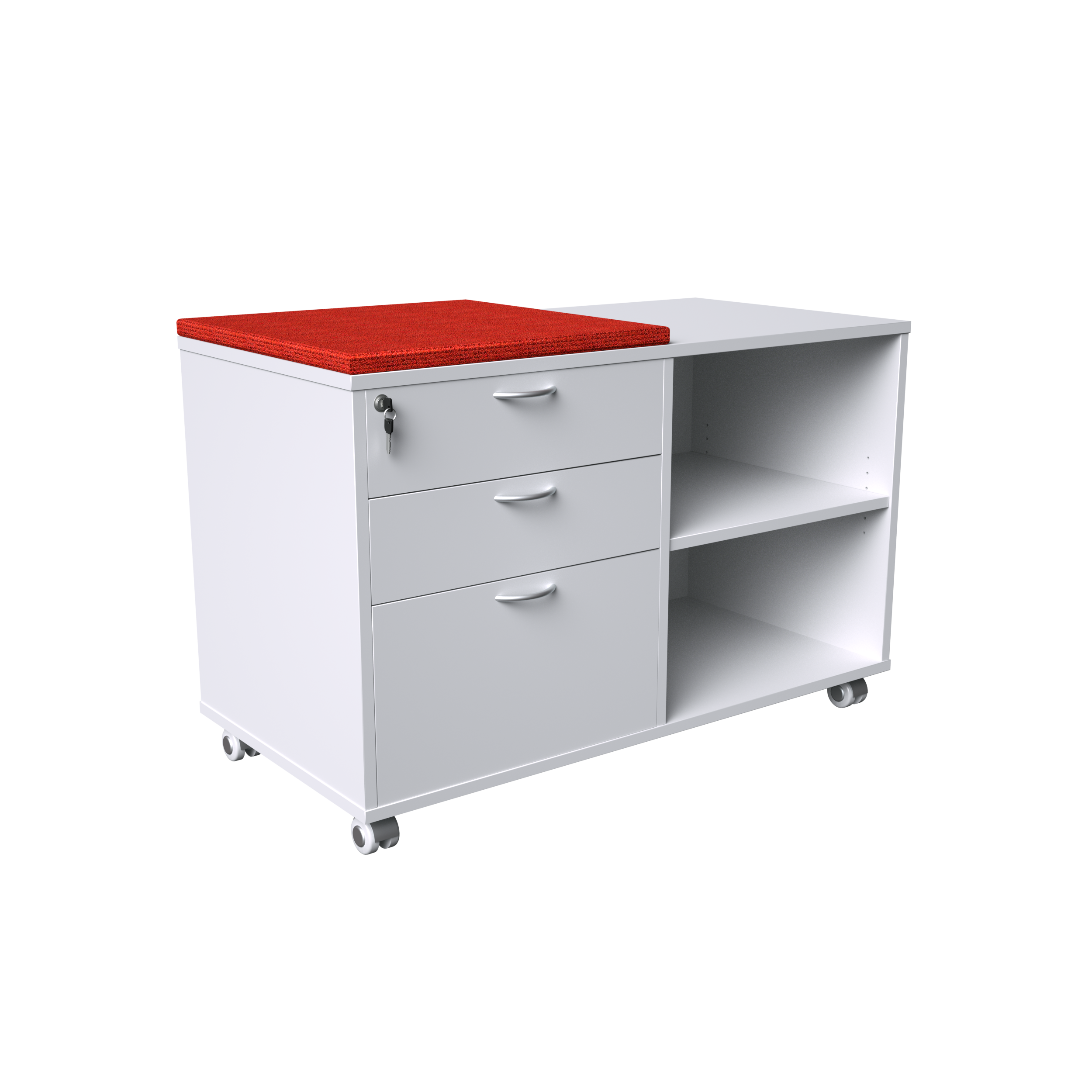 Office Caddy Pedestal drawers