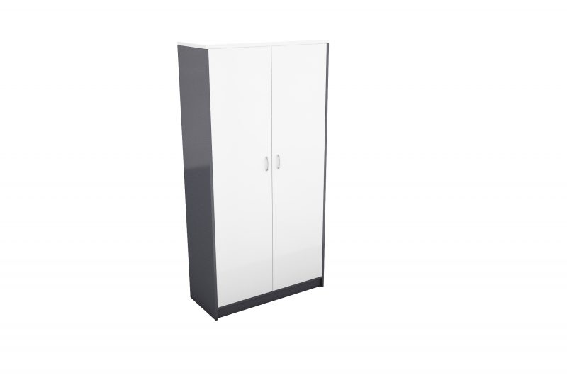 office cupboard white timber wood storage sydney