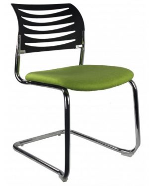 visitor boardroom office chair green red black chrome cantileversydney