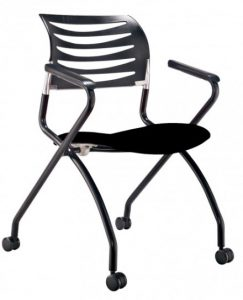 office visitor chair seat foldable